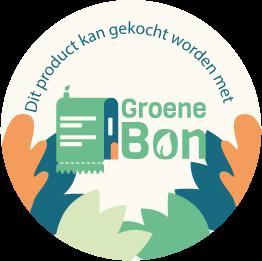 Sticker Groene Bon